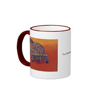 Box Turtle, tortoise Ringer Mug