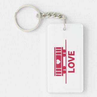 Boxcar Children Love Key Ring