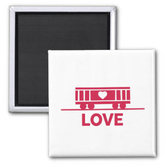Boxcar Children Love Magnet