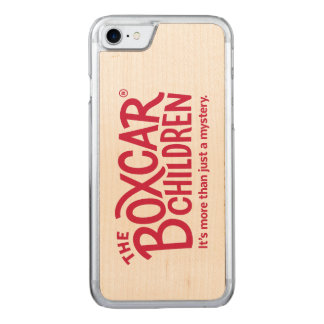 Boxcar Children Official Logo with Tagline Carved iPhone 8/7 Case