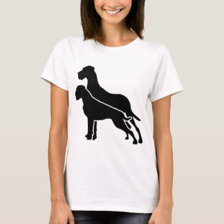 Boxer and great dane T-Shirt