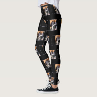 Boxer Art dog art leggings