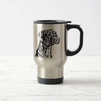 Boxer Art Travel Mug