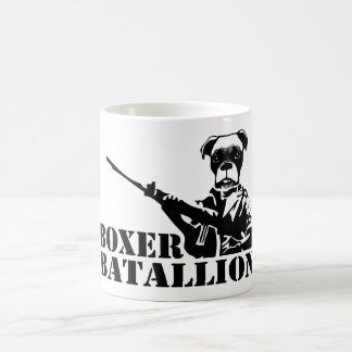 Boxer Batallion Coffee Mug