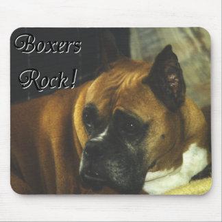 Boxer:  Boxers Rock Mouse Pad