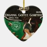 Boxer Brand – Organic Coffee Company Ceramic Heart Decoration