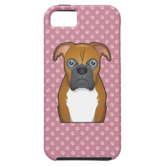 Boxer Cartoon iPhone 5 Case