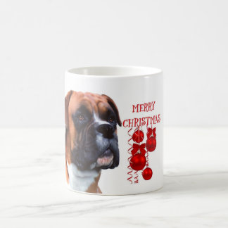 Boxer Christmas Coffee mug