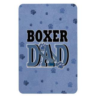 Boxer DAD Rectangular Magnet
