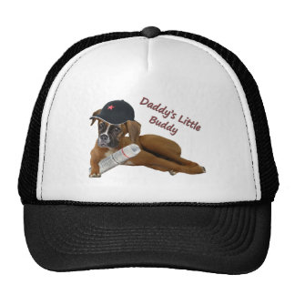 "Boxer ""Daddy's Little Buddy"" Hat"
