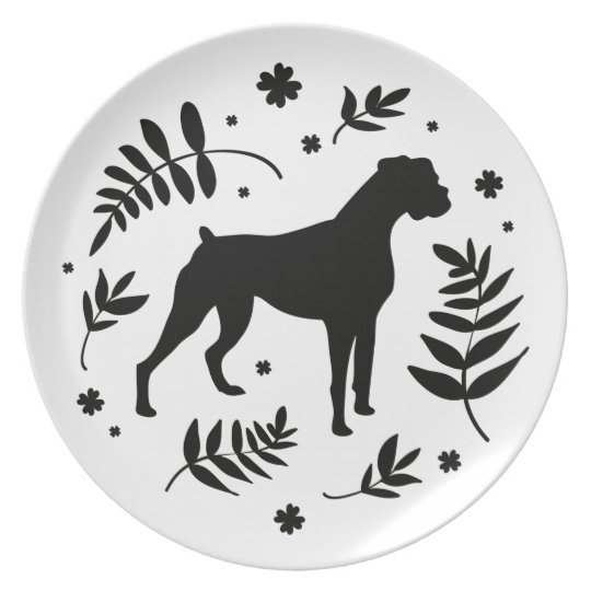 Boxer Days Plate