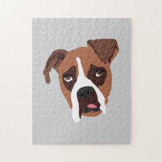 "Boxer Dog 11"" x 14"" Puzzle"