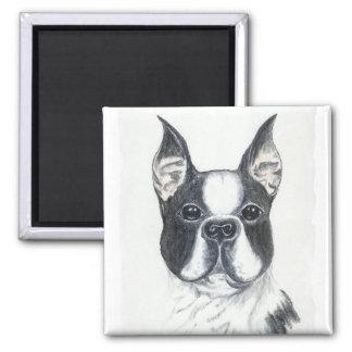 boxer dog 2 refrigerator magnet
