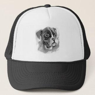 Boxer Dog Art Trucker Hat