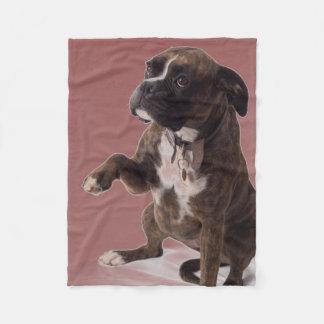 Boxer dog blanket