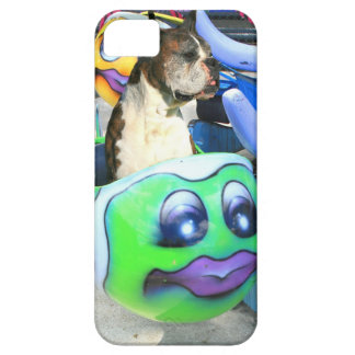 Boxer dog carousel iPhone 5 cover