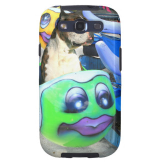 Boxer dog carousel galaxy SIII cases