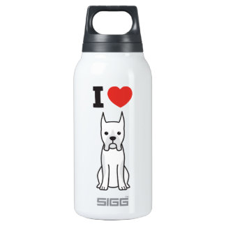 Boxer Dog Cartoon 0.3 Litre Insulated SIGG Thermos Water Bottle