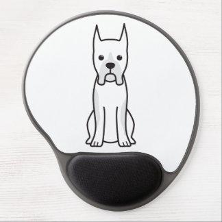 Boxer Dog Cartoon Gel Mouse Pad