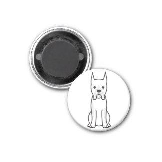 Boxer Dog Cartoon Fridge Magnet