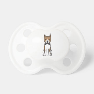 Boxer Dog Cartoon Pacifier