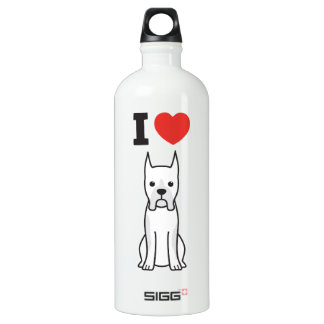 Boxer Dog Cartoon SIGG Traveller 1.0L Water Bottle