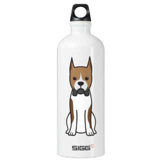 Boxer Dog Cartoon SIGG Traveller 1.0L Water Bottle