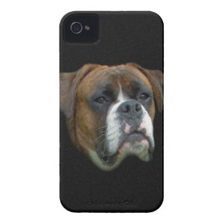Boxer Dog iPhone 4 Case-Mate Cases