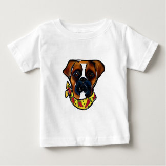 Boxer Dog Cinco de Mayo Baby T-Shirt