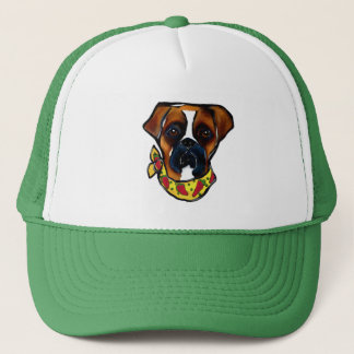 Boxer Dog Cinco de Mayo Trucker Hat