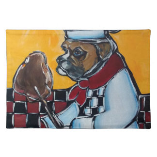 BOXER DOG COOK PLACEMAT