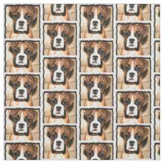 Boxer dog Custom Fabric