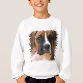 Boxer Dog Design Kid's Sweatshirt