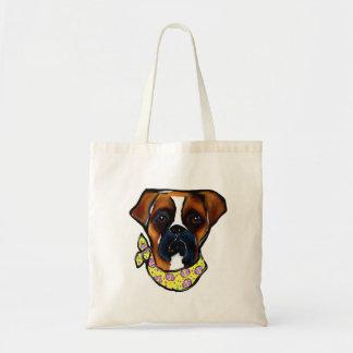 Boxer Dog Easter Tote Bag