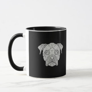 Boxer Dog Face - Detailed Dogs Mug