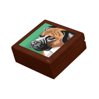 Boxer Dog Gifts Gift Box