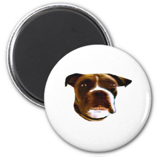 Boxer Dog Head 3 The MUSEUM Zazzle Gifts Refrigerator Magnets