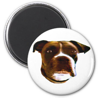 Boxer Dog Head The MUSEUM Zazzle Gifts Fridge Magnet