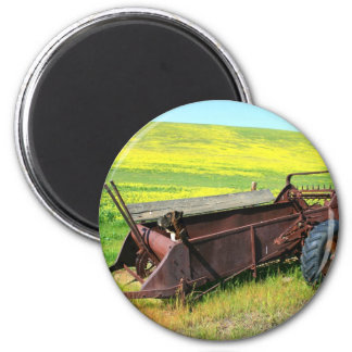 Boxer Dog in Prairie magnet