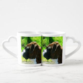 Boxer dog lovers mug