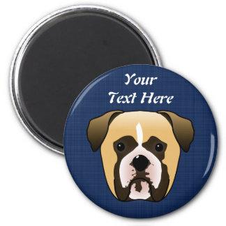 Boxer Dog Refrigerator Magnets