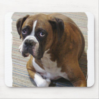 Boxer Dog Mouse Pad