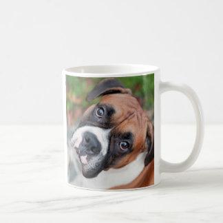Boxer dog mug