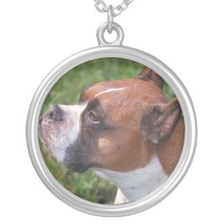 Boxer Dog Necklace