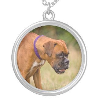 Boxer dog necklace gift idea