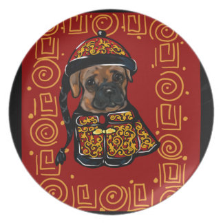Boxer Dog of the Year Plate