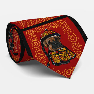 Boxer Dog of the Year Tie