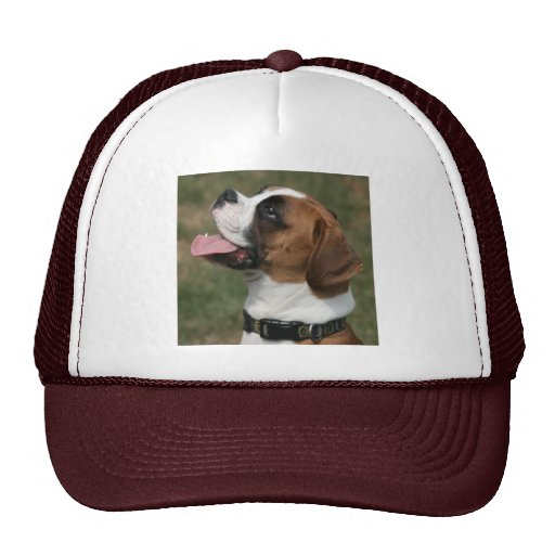 Boxer Dog Photo Trucker Hat