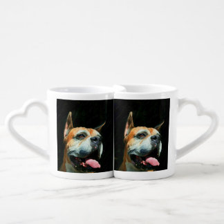 Boxer Dog Lovers Mug Sets