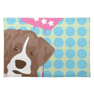 boxer dog placemats